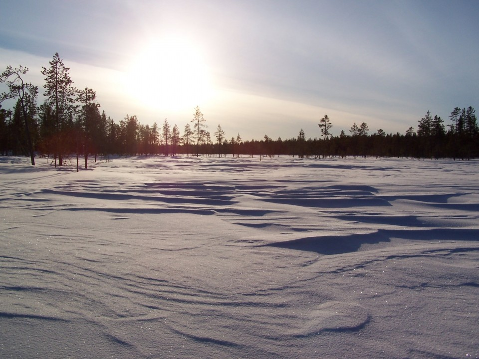 Laponie, Suède, Junosuando