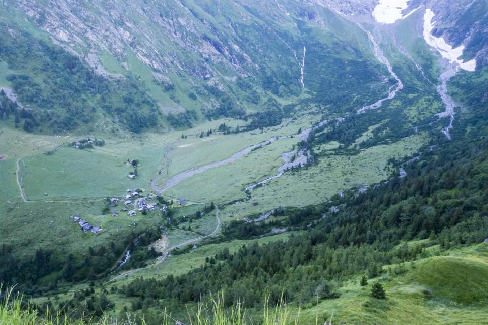 Trail sous sous le Miage, Les Contamines Mont-Blanc