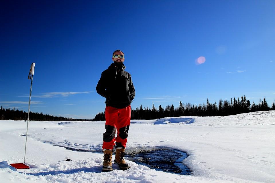 Manteau d'hiver pour le grand nord