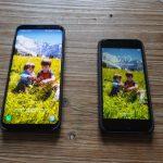 samsung galaxy S8 plus VS iphone apple