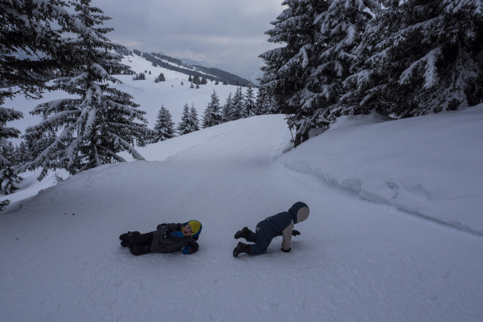 Vacances d'hiver pour les enfants