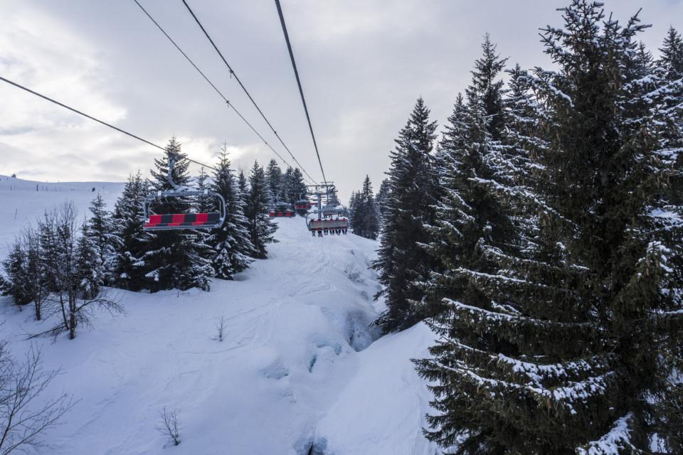 Station de ski des Saisies