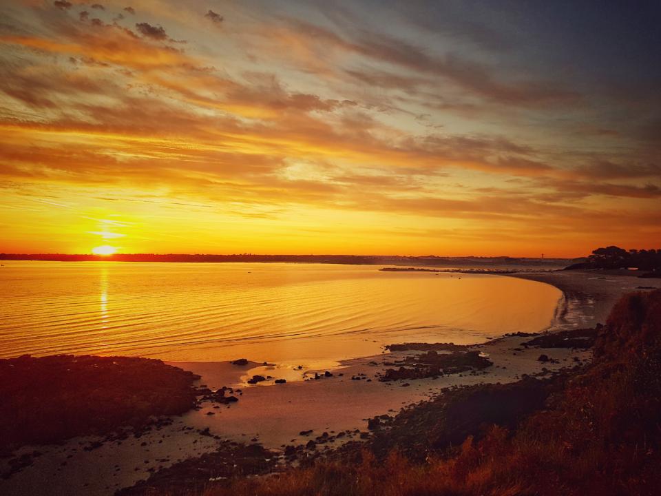 lever du soleil saint-jacut bretagne